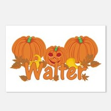 Halloween Pumpkin Walter Postcards (Package of 8)
