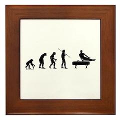 Gymnast Evolution1 Framed Tile
