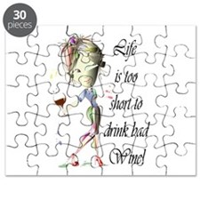 Life is too short to drink bad Wine! Puzzle