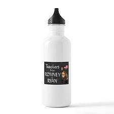 TEACHERS VOTE RIGHT Water Bottle