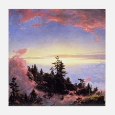 Frederic Edwin Church Sunrise Tile Coaster