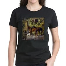 Adam Albrecht Horses at the Porch Tee