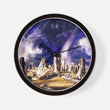 John Constable Stonehenge Wall Clock