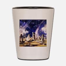 John Constable Stonehenge Shot Glass