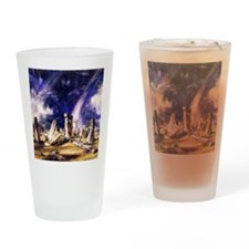 John Constable Stonehenge Drinking Glass