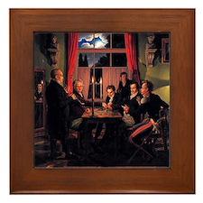 Johann Erdmann Hummel Chess Framed Tile