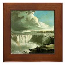 Niagara Falls from Table Rock Framed Tile