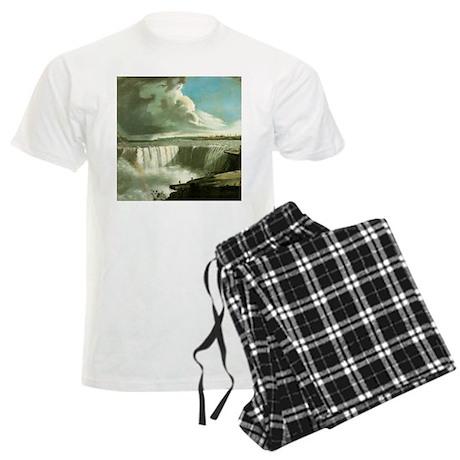 Niagara Falls from Table Rock Men's Light Pajamas
