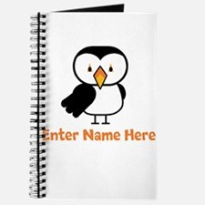 Personalized Puffin Journal