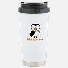 Personalized Puffin Thermos Mug