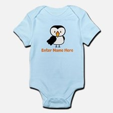 Personalized Puffin Infant Bodysuit