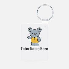 Personalized Koala Bear Keychains