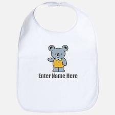 Personalized Koala Bear Bib