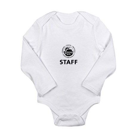 3-staff-buttons.png Long Sleeve Infant Bodysuit