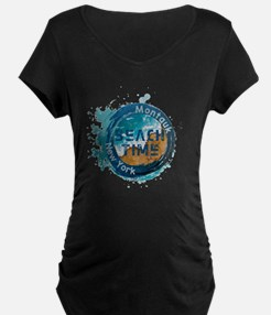 New York - Montauk Maternity T-Shirt