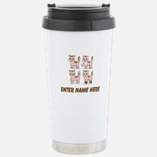 Personalized Kittens Stainless Steel Travel Mug