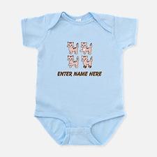 Personalized Kittens Infant Bodysuit