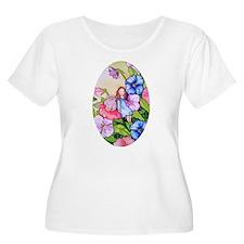 Garden Pansy Fairy T-Shirt