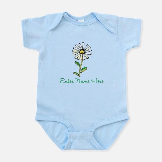 Personalized Daisy Infant Bodysuit