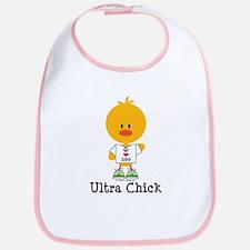 Ultra Chick Peace Love 100 Bib