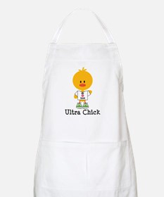 Ultra Chick Peace Love 100 Apron