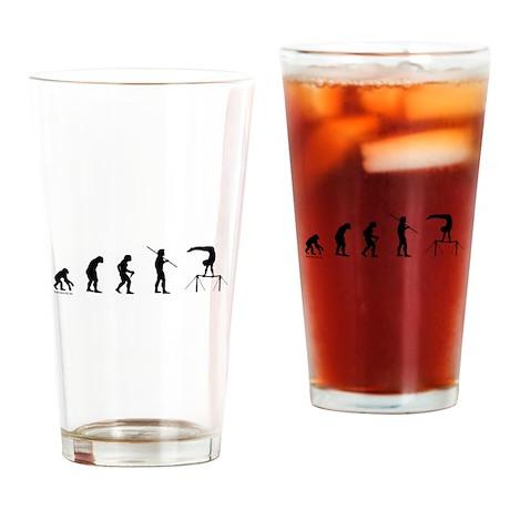 Gymnast Evolution5 Drinking Glass