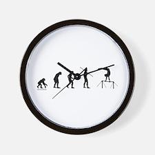 Gymnast Evolution5 Wall Clock