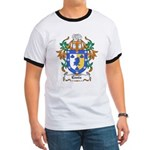 Ennis Coat of Arms Ringer T