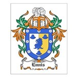 Ennis Coat of Arms Small Poster