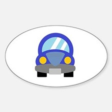 Blue Car Stickers