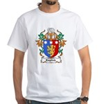 English Coat of Arms White T-Shirt