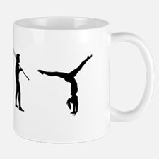 Gymnast Evolution7 Mug