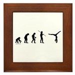 Gymnast Evolution7 Framed Tile