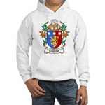 English Coat of Arms Hooded Sweatshirt