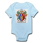 English Coat of Arms Infant Creeper