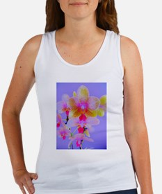 pretty in pink orchid Women's Tank Top