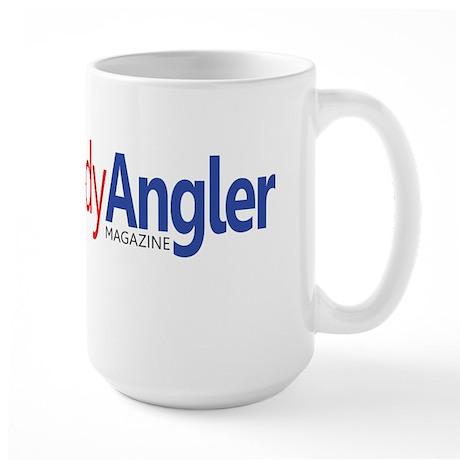 Lady Angler Logo Large Mug