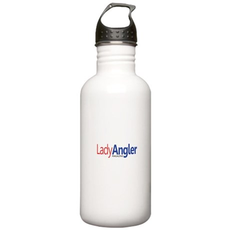 Lady Angler Logo Stainless Water Bottle 1.0L