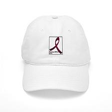 Brain aneurysm awareness ribbon Baseball Cap