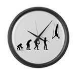 Gymnast Evolution2 Large Wall Clock