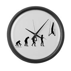 Gymnast Evolution2 Large Wall Clock