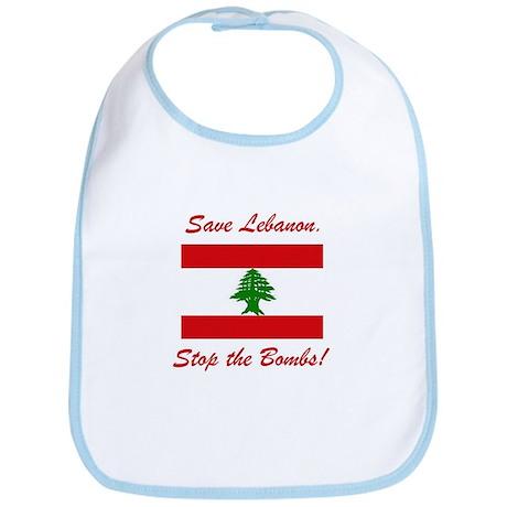 Save Lebanon Bib