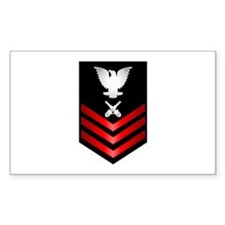 Navy Gunner's Mate First Class Decal