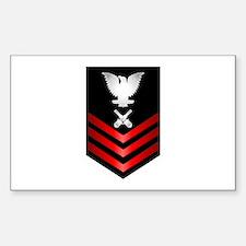 Navy Gunner's Mate First Class Decal