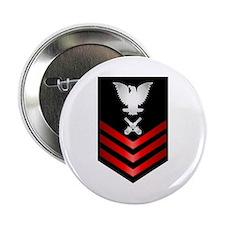 """Navy Gunner's Mate First Class 2.25"""" Button"""
