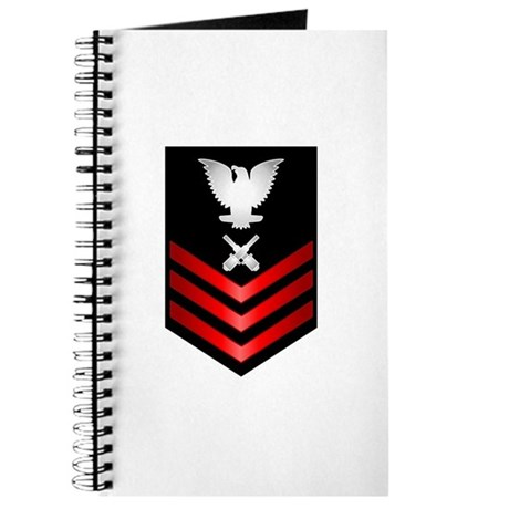Navy Gunner's Mate First Class Journal