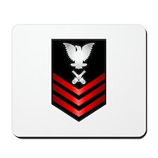 Navy Gunner's Mate First Class Mousepad