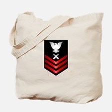 Navy Gunner's Mate First Class Tote Bag