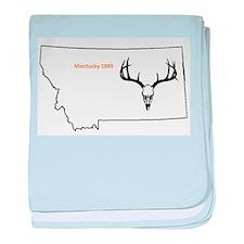 Montucky Elk baby blanket