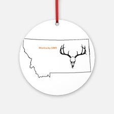 Montucky Elk Ornament (Round)